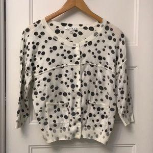 Cabi Dottie sweater size M